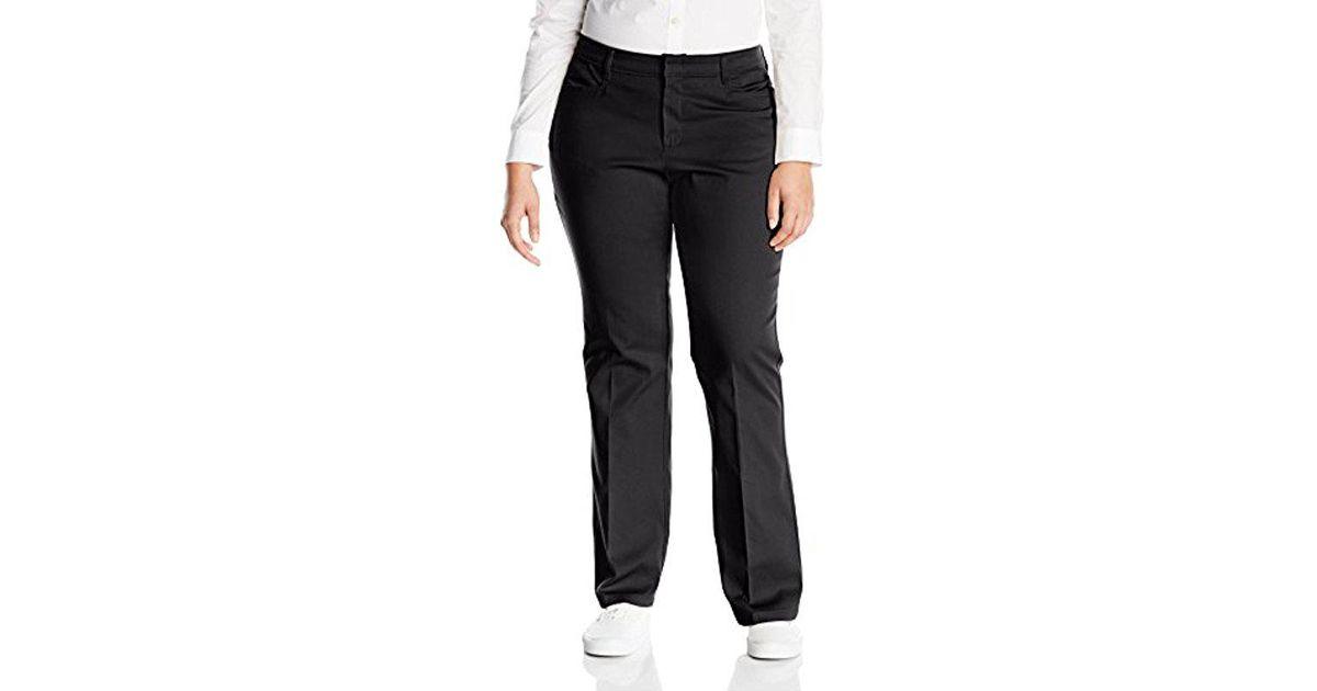 da35e740ae1 Lyst - Dickies Juniors  Plus-size Classic Stretch Bootcut Pant in Black