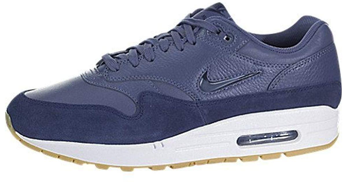 Nike Blue W Air MAX 1 Premium SC, Zapatillas de Running para Mujer Lyst