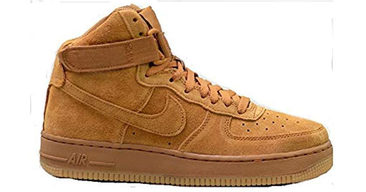 quality design 7f3f7 fa0ab Men s Air Force 1 High Lv8 (gs) Fitness Shoes, Multicolour Wheat gum Light  Brown 701, 5.5 Uk