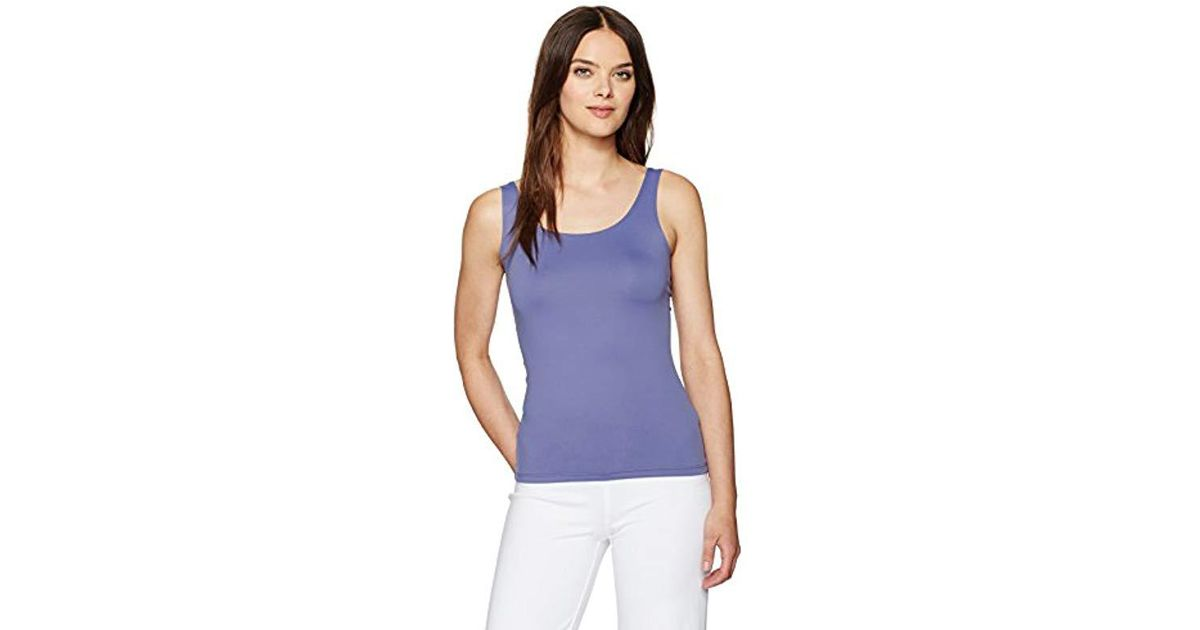 67d4cd26334e35 Lyst - Only Hearts Delicious Low Back Tank in Blue