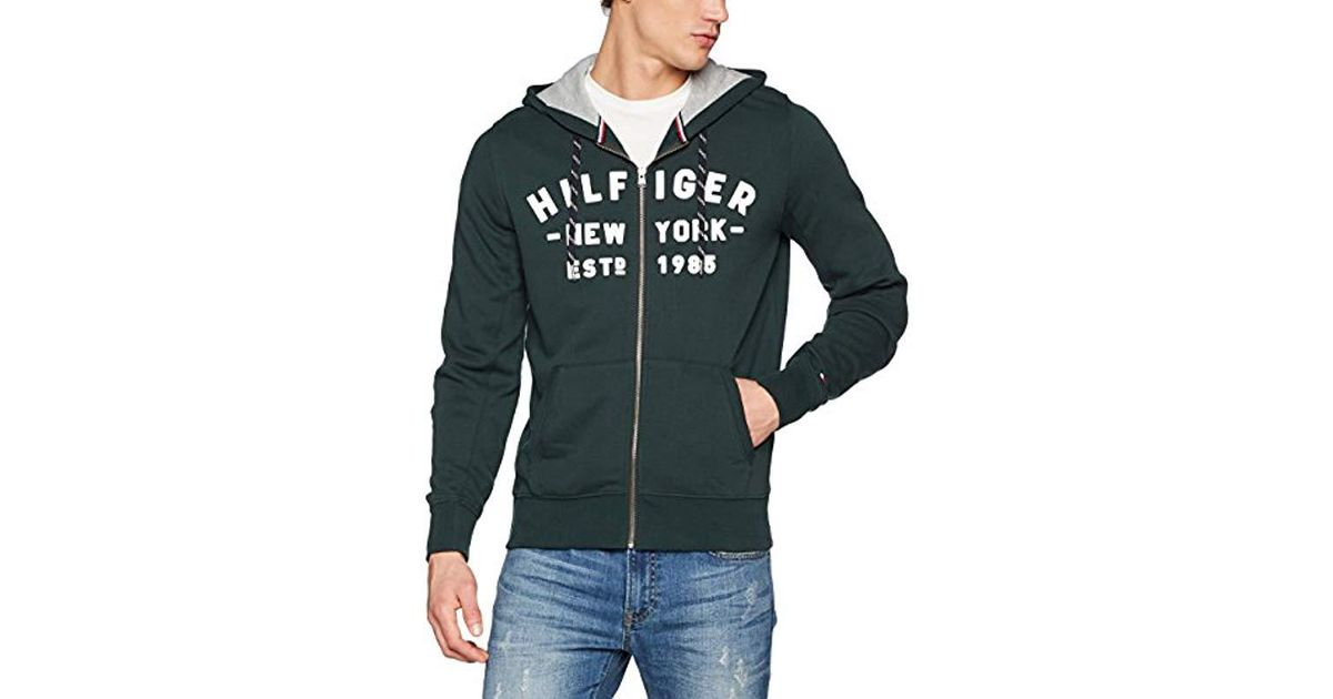 96ca5f37dd7aa Tommy Hilfiger Pando Hdd Z-thru L s Vf Long Sleeve Top in Gray for Men -  Lyst