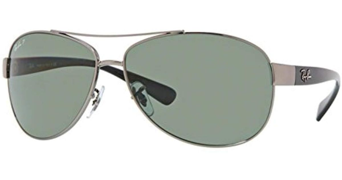 1a5a0373f1a Lyst - Ray-Ban Rb3386 in Green for Men - Save 19%