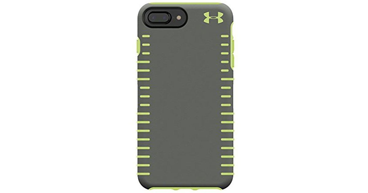 separation shoes 5c31a cdd4f Under Armour - Green Ua Protect Grip Case For Iphone 8 Plus - Also  Compatible With Iphone 7 Plus, Iphone 6+/6s+ - Graphite/quirky Lime - Lyst