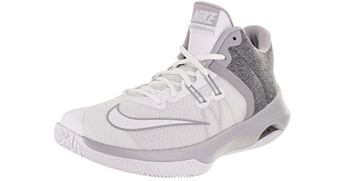 6f01fcb4b333 Lyst - Nike Air Versitile Ii Basketball Shoe in Gray for Men