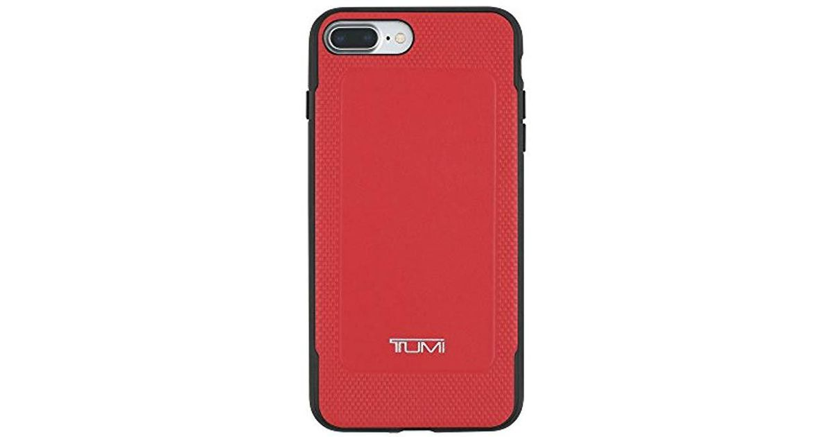 low priced 12a6c 11f82 Tumi - Red 19 Degree Case For Iphone 7 Plus - Lyst