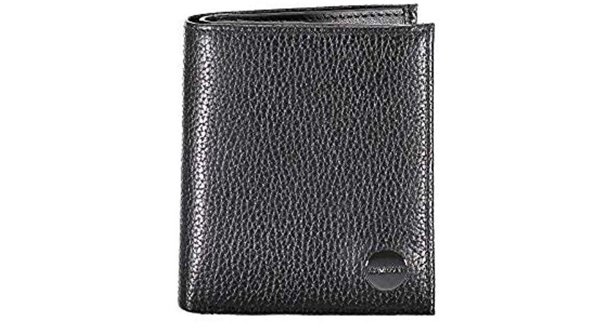 salvare 982d1 f8a0a Calvin Klein - Black K50k504630 Portafoglio for Men - Lyst