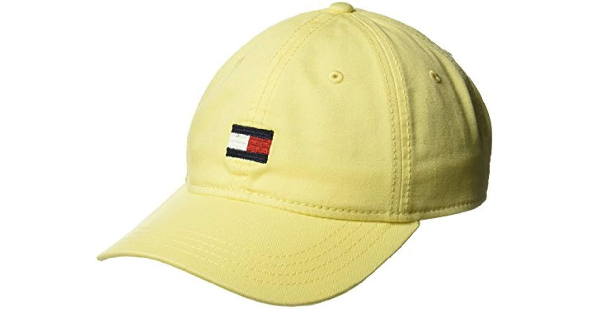 bcc515b7 Lyst - Tommy Hilfiger Ardin Dad Hat in Yellow for Men