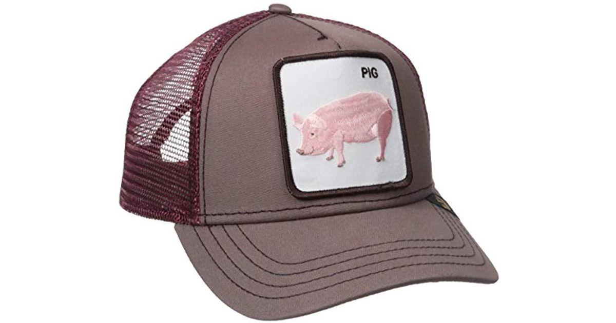0d8a0897bdac67 Goorin Bros Animal Farm Trucker Hat for Men - Lyst