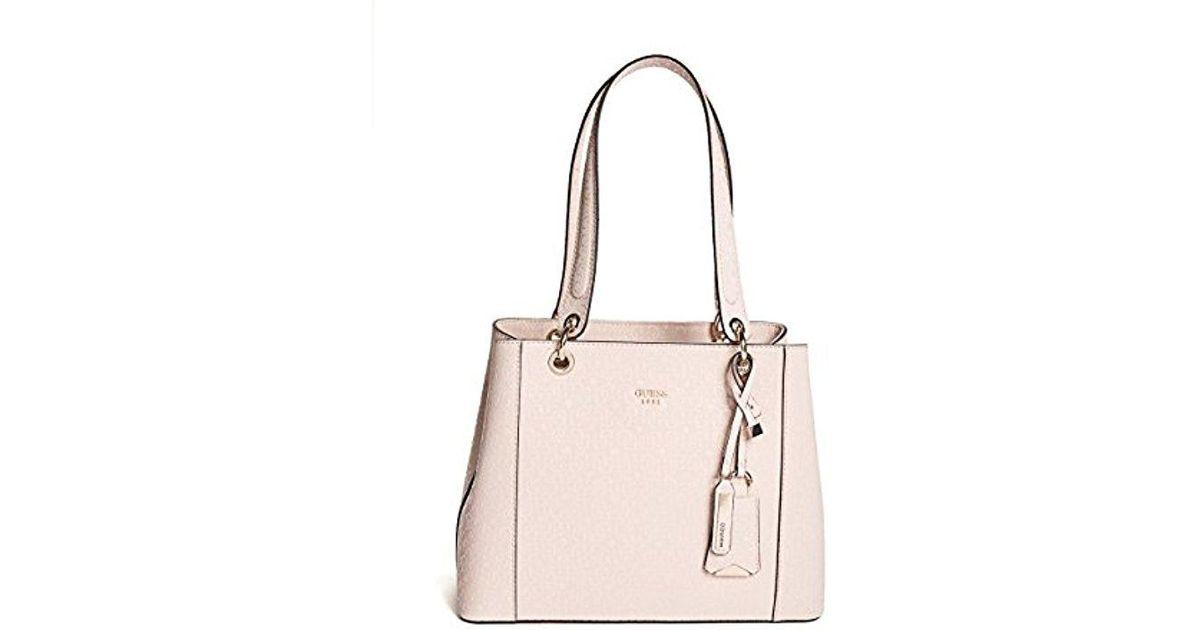 1a003716a Guess Kamryn G-shine Shopper Bla in Pink - Lyst