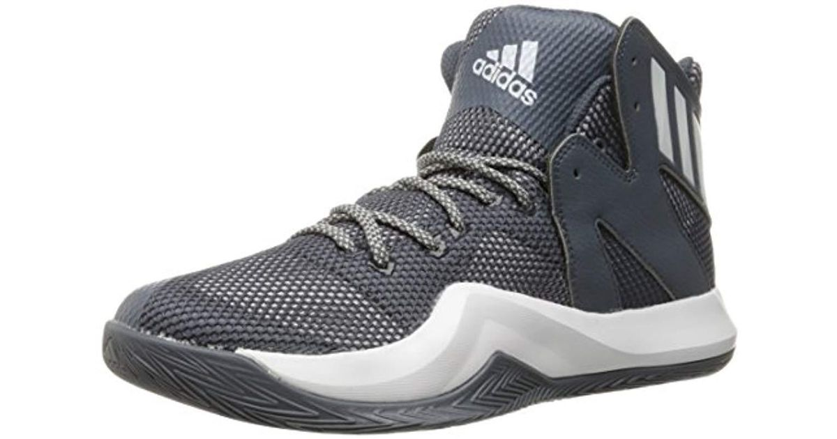 best service ebd43 aaff8 Lyst - adidas Performance Crazy Bounce Basketball Shoe in Gray for Men -  Save 5%