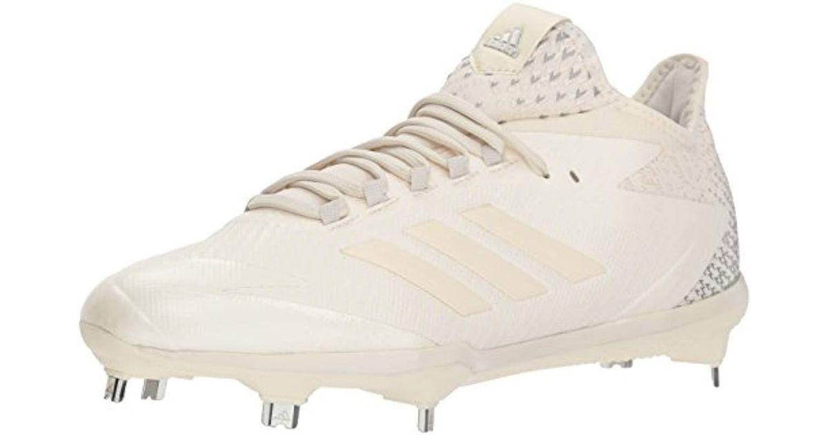 1f2707a2967 Lyst - adidas Adizero Afterburner 4 Baseball Shoe in White for Men