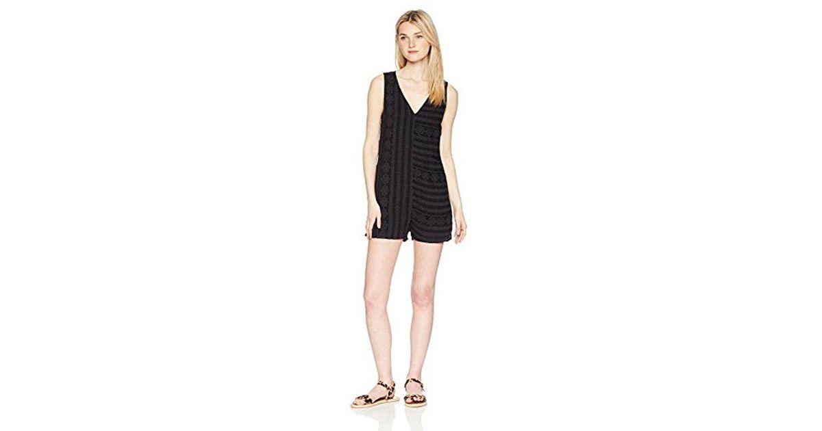 75950c04525 Lyst - Roxy My Side Dress in Black