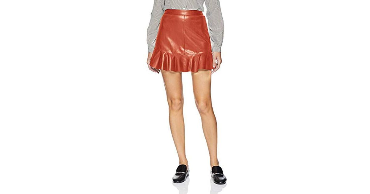 5a8e7402e7 BB Dakota Veni Vidi Vici Vegan Leather Skirt - Lyst