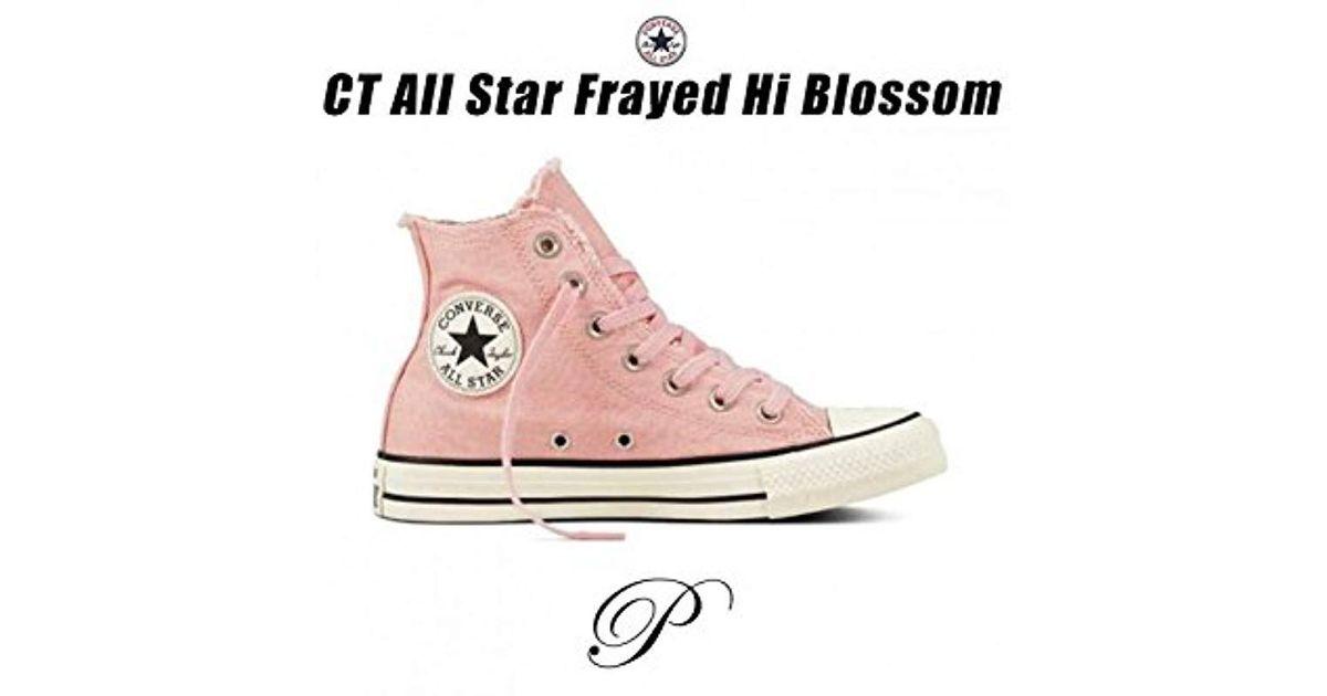 007384d8c6e976 Converse Unisex Chuck Taylor All Star Canvas Hi-top Trainers - Lyst