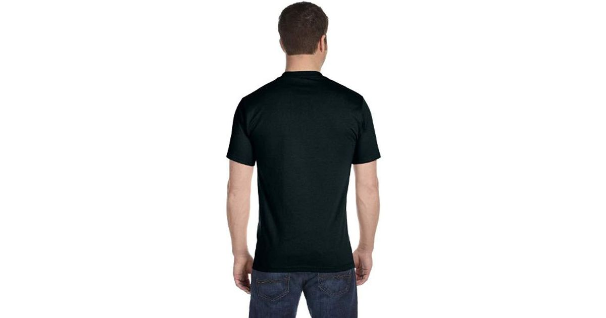 e09d17ae00 ... lyst hanes big and tall beefy t tall t shirt d in black for men ...