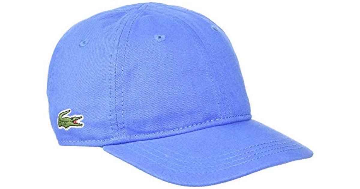 1b78262e9b Lyst - Casquette Garçon Lacoste pour homme en coloris Bleu
