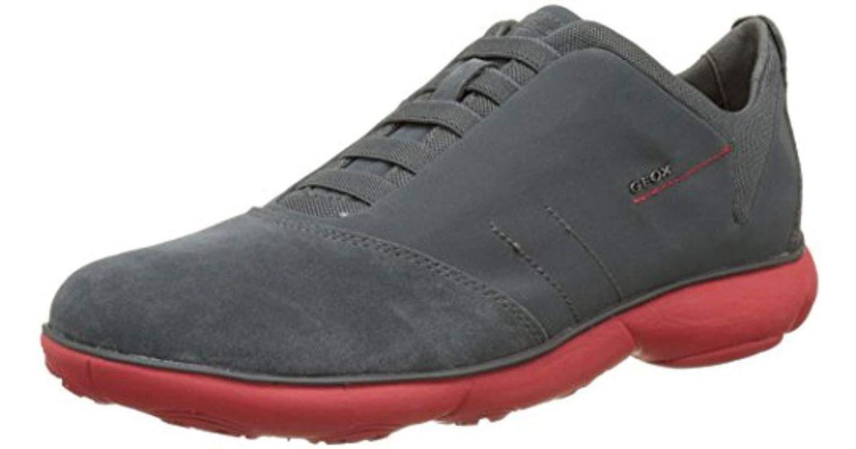 Geox Gray Nebula 17 Sneaker for Men Lyst