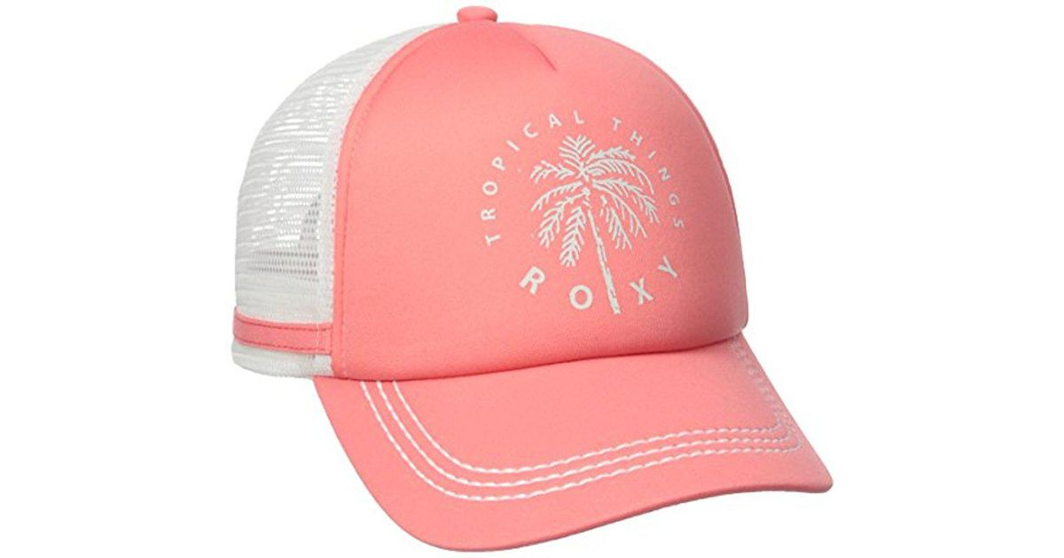 988d401d2482e Lyst - Roxy Junior s One Size Dig This Trucker Hat in Pink for Men