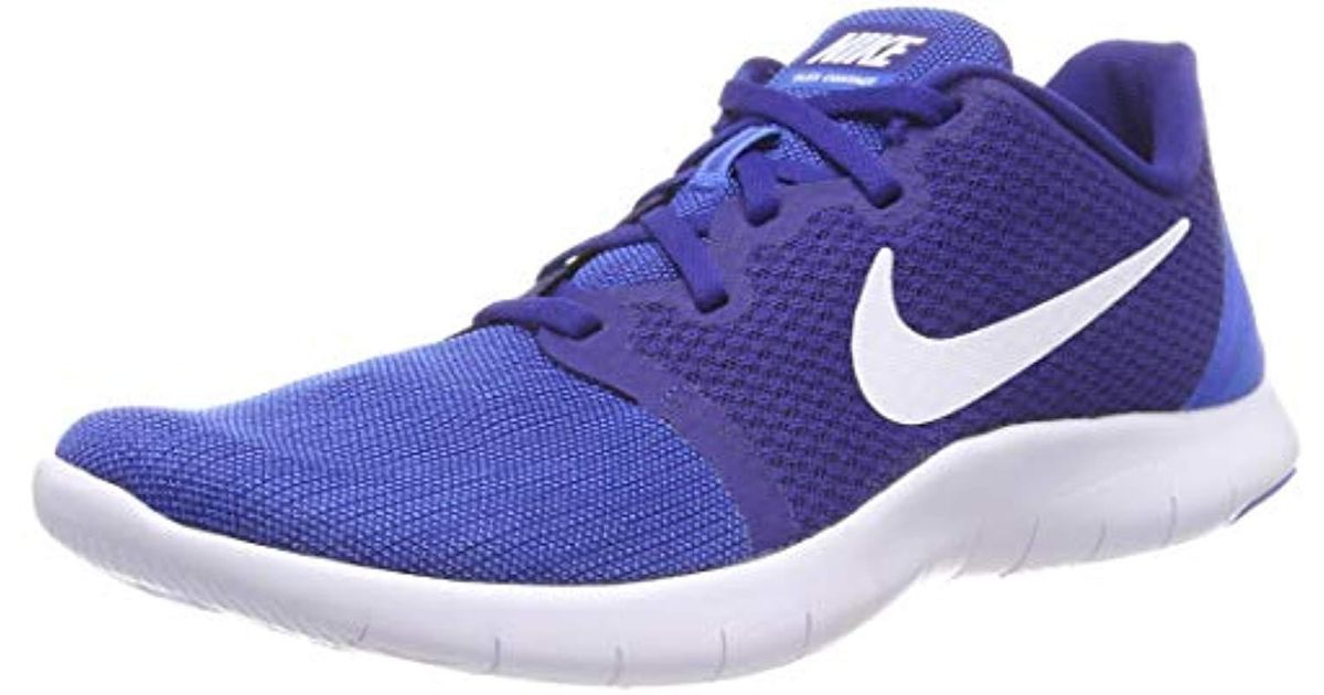 b3bf13db8991c Nike Flex Contact 2 Fitness Shoes in Blue for Men - Lyst