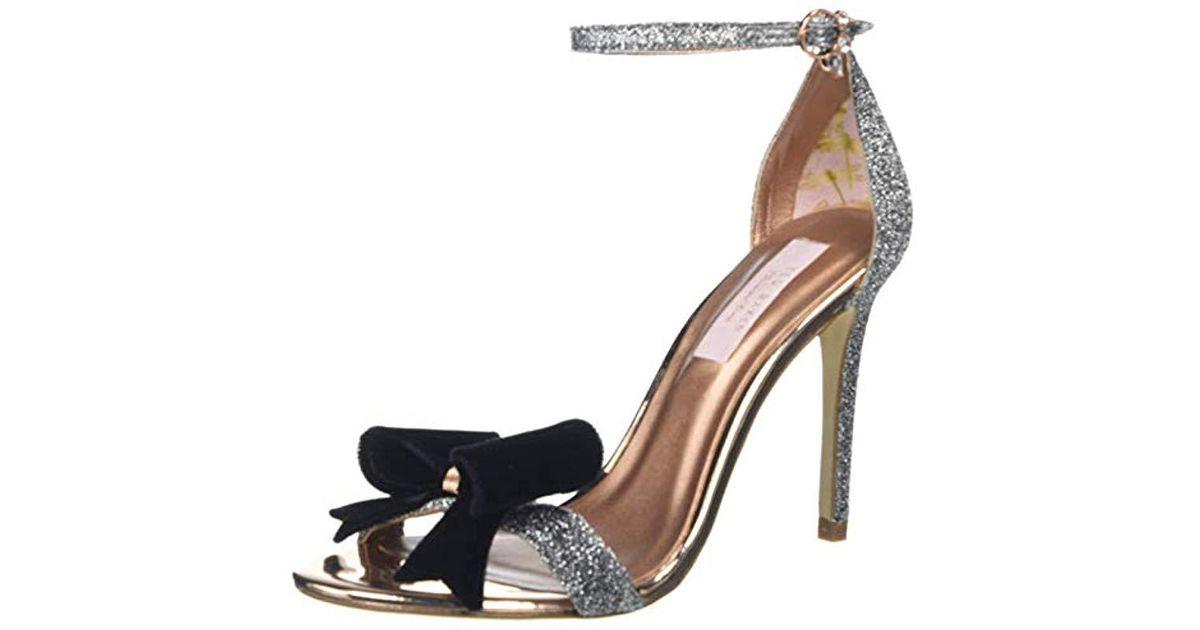 5cfbb604824 Ted Baker Bowdalo Sandal in Metallic - Lyst