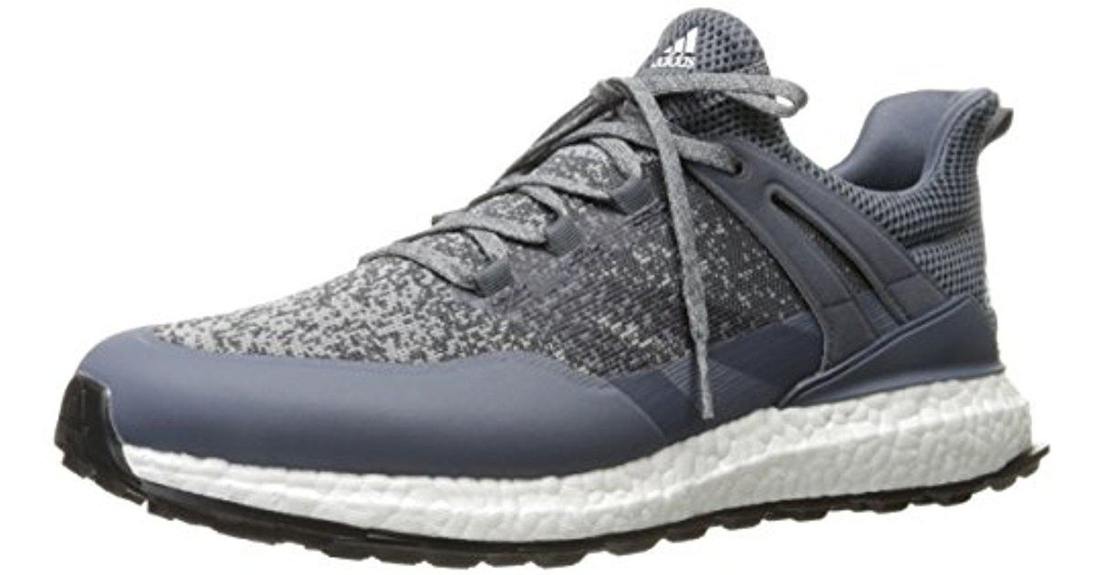 online store a5e3e 957a9 Lyst - Adidas Crossknit Boost Midgreon Golf Shoe in Gray for