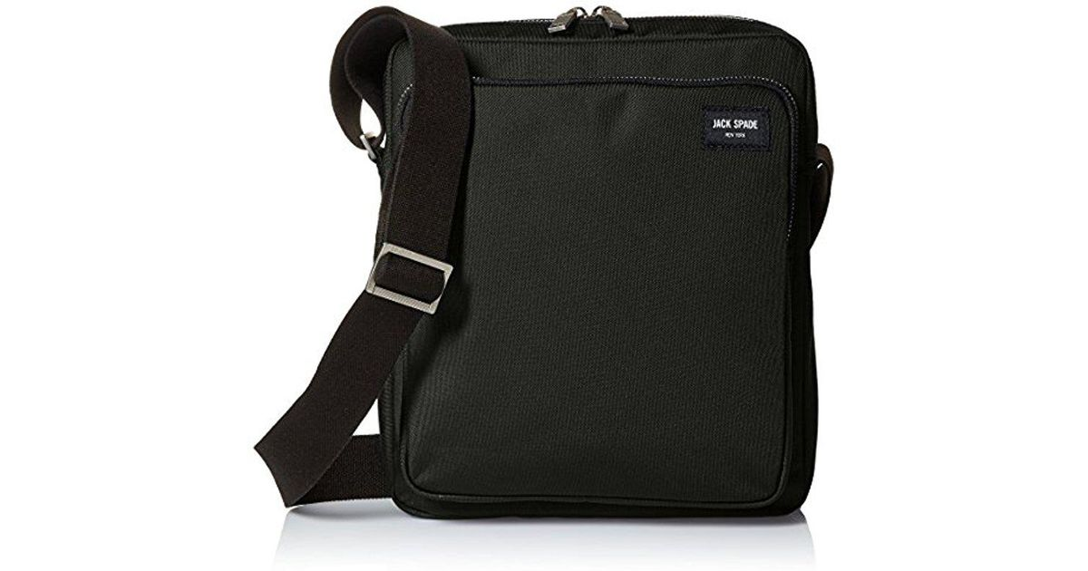 c676decf290e Lyst - Jack Spade Commuter Nylon Cargo Messenger in Black for Men