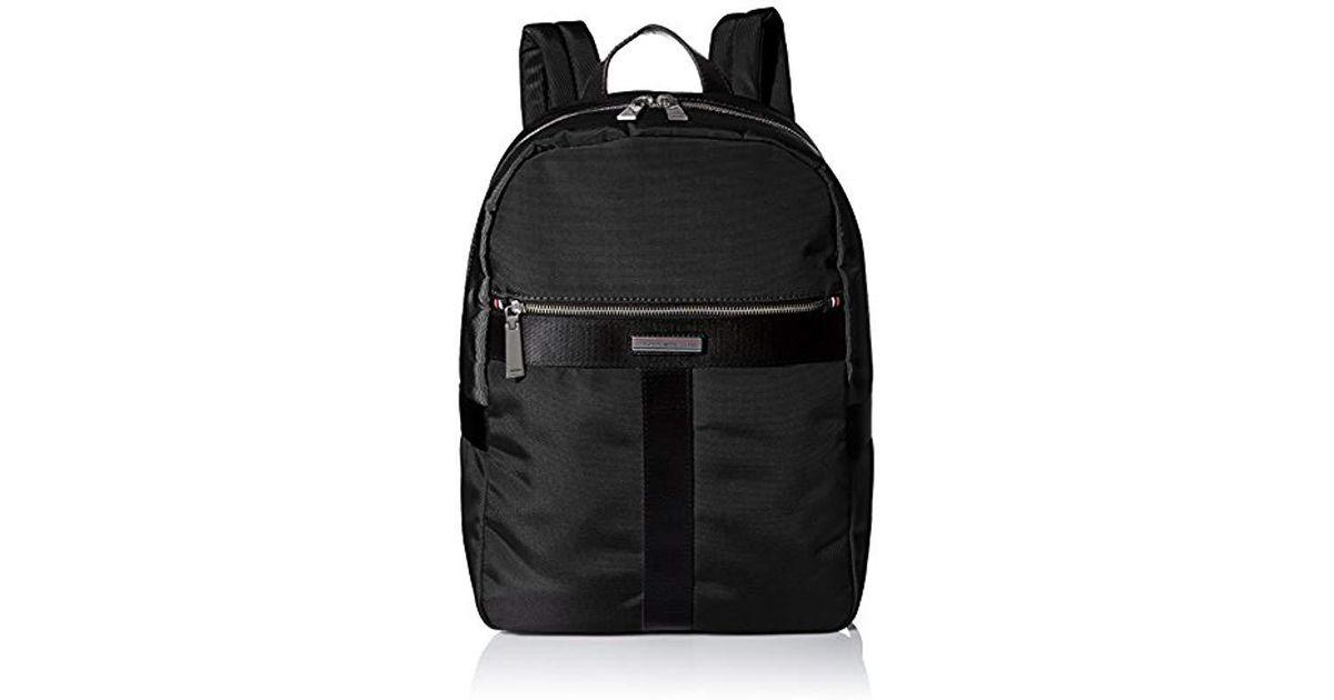 6d46d1ab Lyst - Tommy Hilfiger Cordura Nylon Multipurpose Backpack in Black for Men