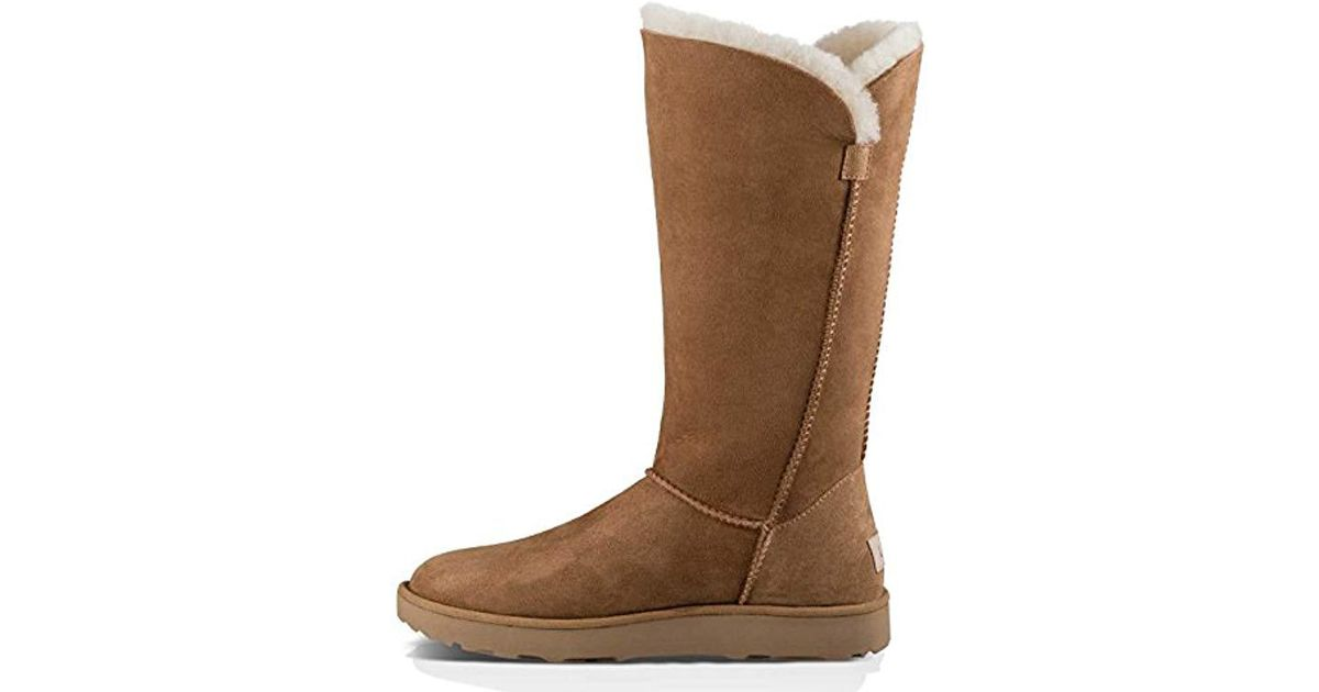 65d5969da32 Ugg - Brown Classic Cuff Tall Winter Boot - Lyst
