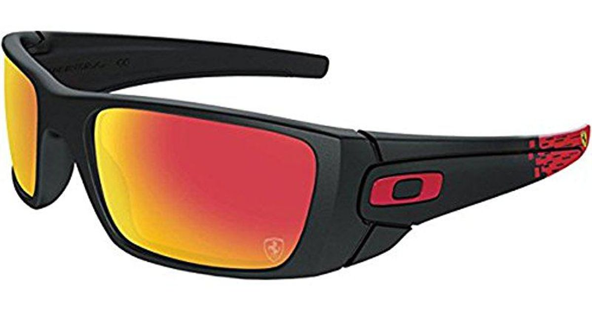 26fa0761e6 Lyst - Oakley Fuel Cell Scuderia Ferrari Sunglasses in Black