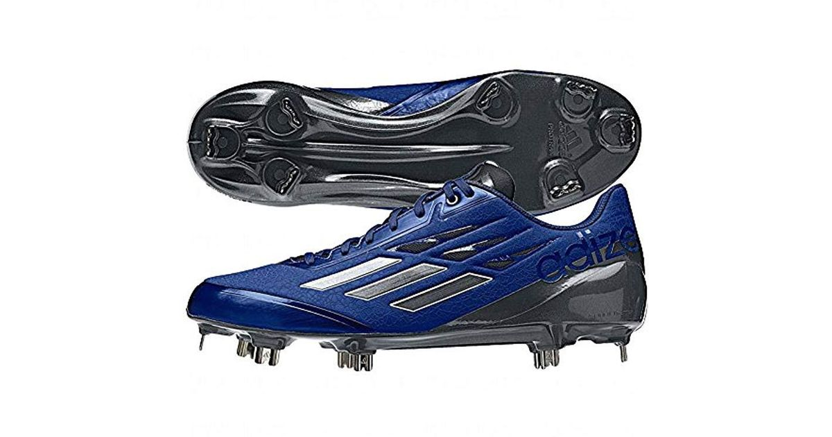 bcef46748 Lyst - adidas Performance Adizero Afterburner Baseball Shoe in Blue for Men  - Save 45%