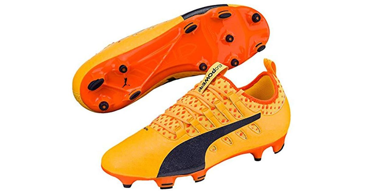 best sneakers 76006 ead92 puma evopower vigor 2 fg orange
