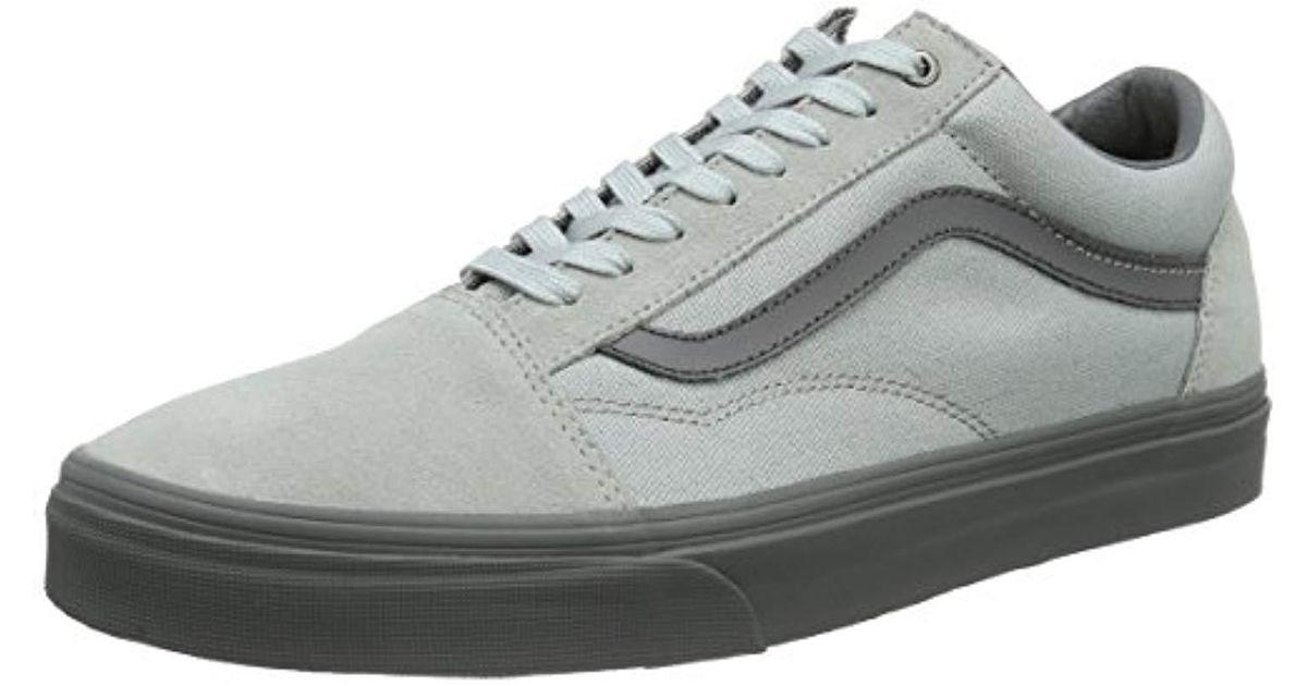 zapatillas vans grises hombre