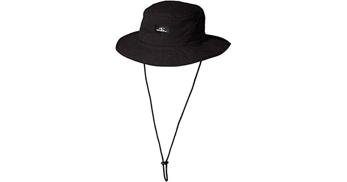 36d4b97fc19 ... premium selection 83d17 6cff6 Lyst - ONeill Sportswear Bucket Hat in  Black for Men - Save ...