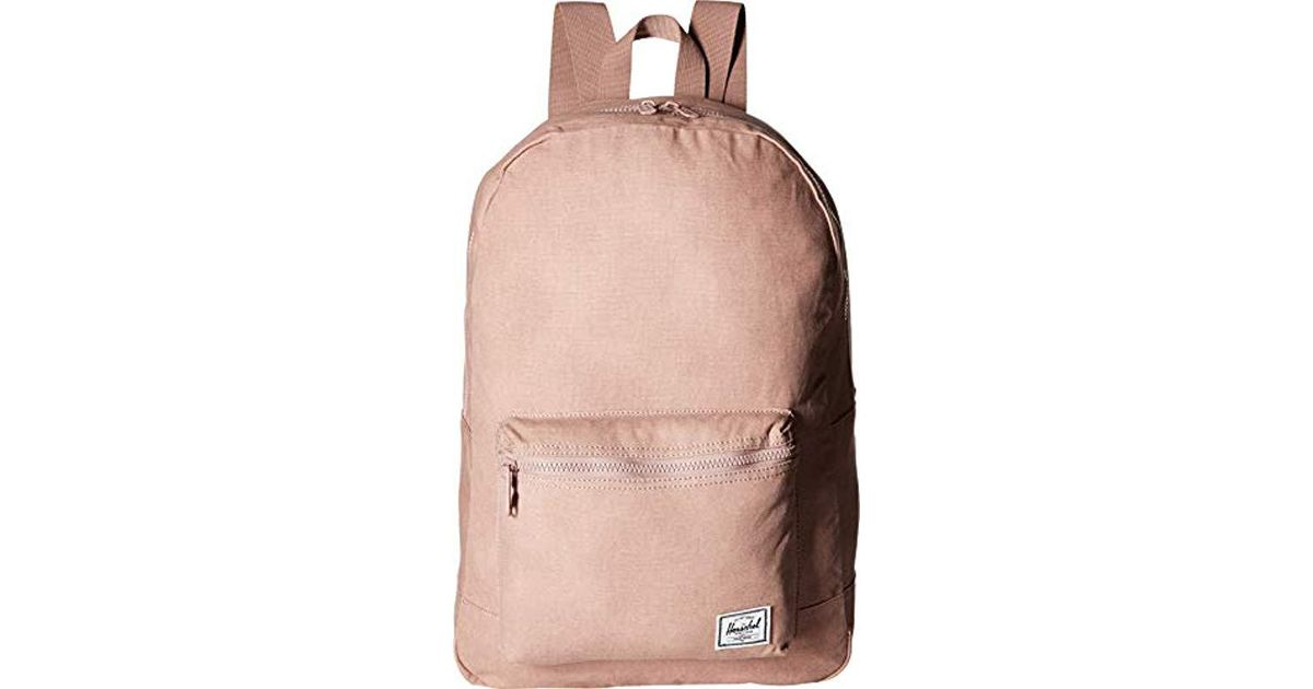 8fa8eb8529 Lyst - Herschel Supply Co. Packable Daypack Backpack in Pink