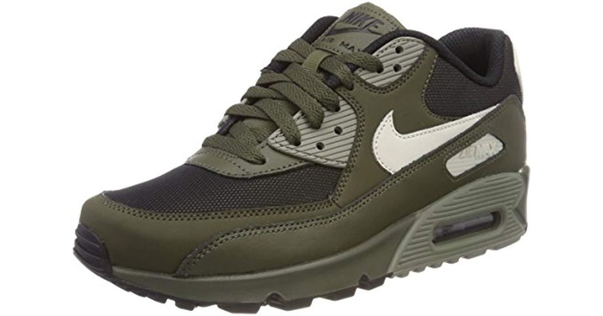 the latest 74ab1 27d0f Nike  s Air Max 90 Essential Running Shoes in Green for Men - Lyst