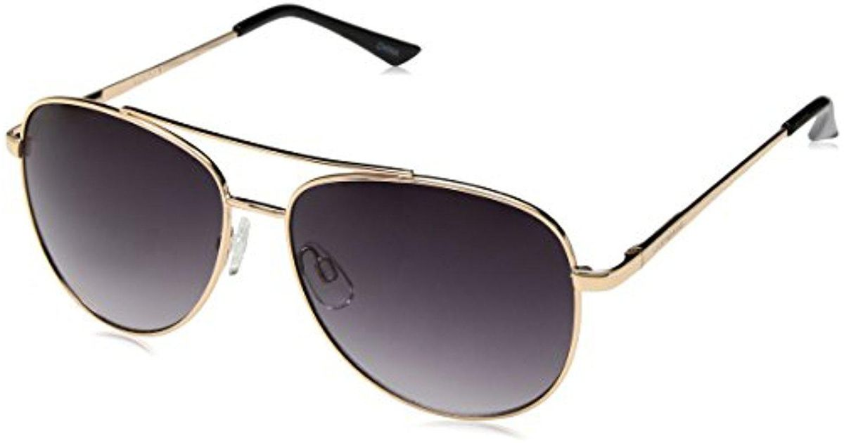 1adeb995dc36b Lyst - Lucky Brand Lucky D928gol58 Aviator Sunglasses