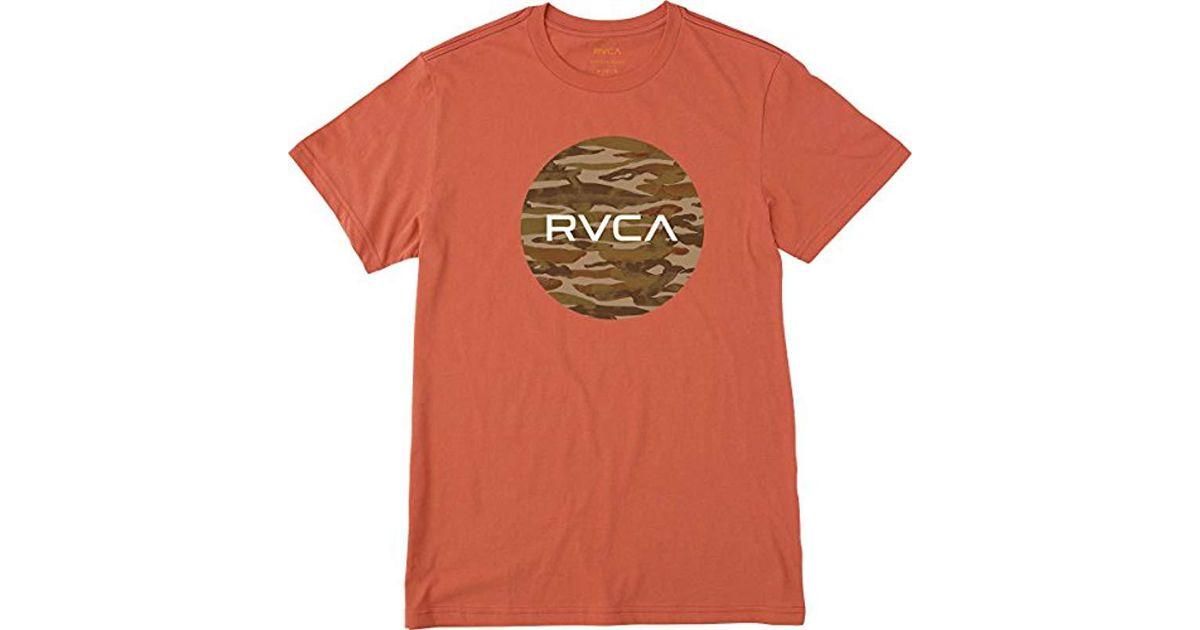 e1661669 Lyst - RVCA Water Camo Motors Vintage Wash T-shirt for Men