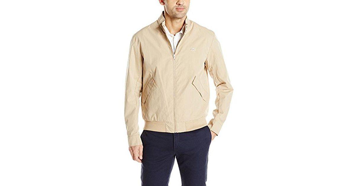 7f5a2988a Lyst - Lacoste Harrington Jacket