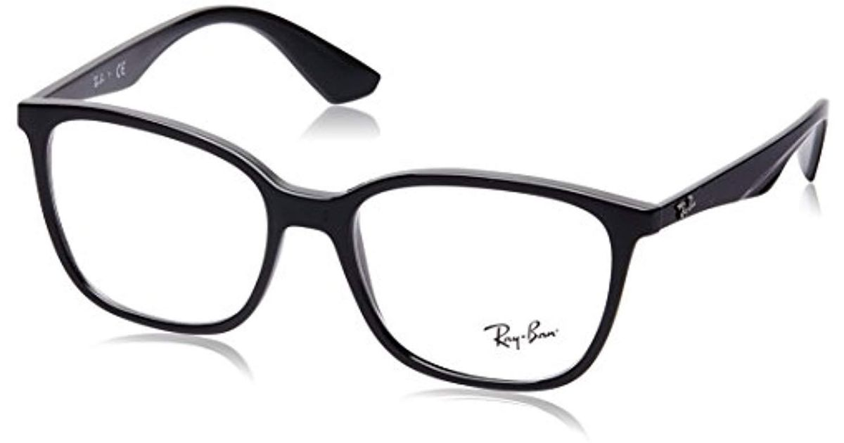 298b73b03e7131 Ray-Ban 7066 Optical Frames, Negro, 54 for Men - Lyst
