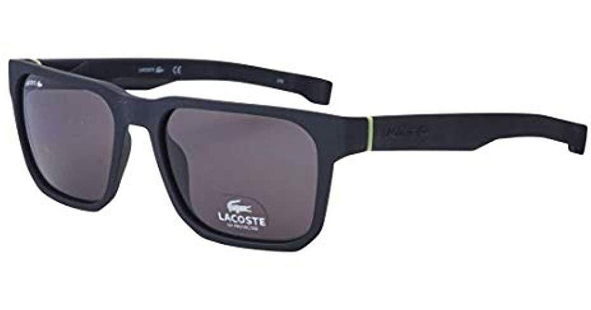 4f4479b9e1a Lyst - Lacoste L877s Plastic Magnetic Square Sunglasses