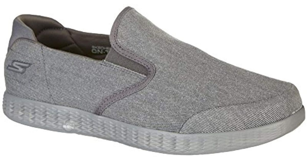 On The go Glide Victorious, Zapatillas sin Cordones para Hombre Skechers de hombre de color Gray