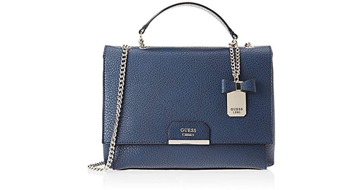 7368c2daf889 Lyst - Guess Ryann Shoulder Bag in Blue