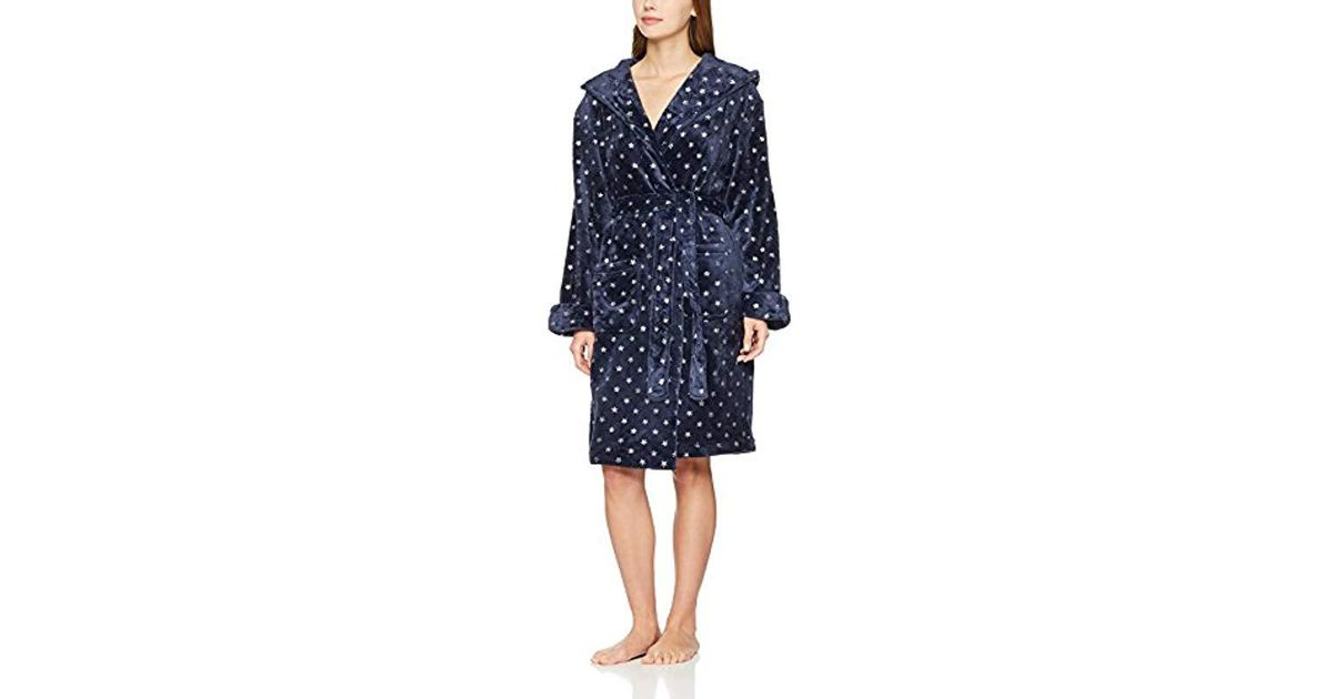 Dorothy Perkins Foil Star Robe Dressing Gown in Blue - Lyst