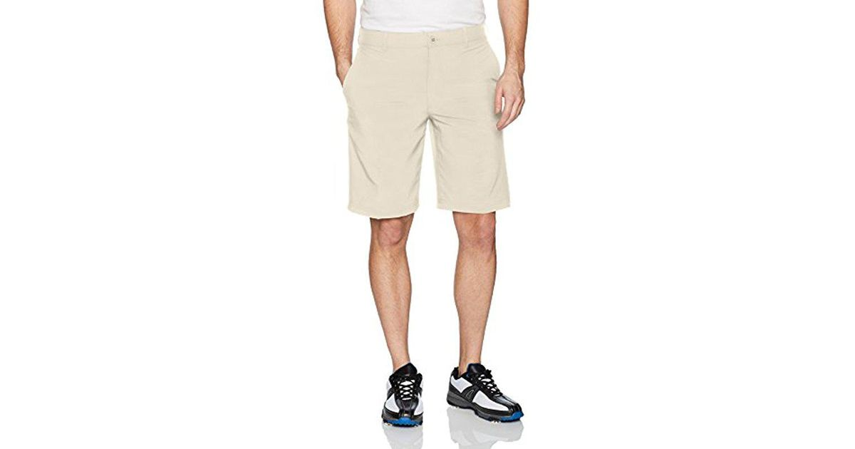 fddb3c68679d Lyst - Izod Golf Swing Flex Flat Front Short in Natural for Men