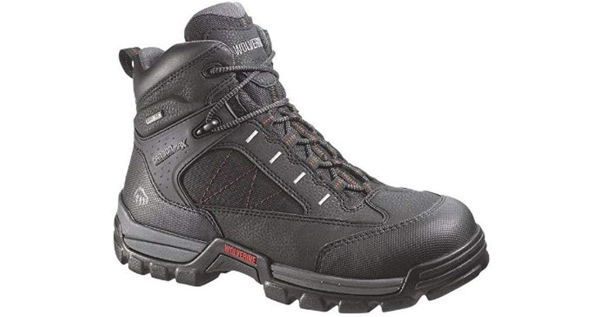 bd8ed17ee74 Wolverine - Black W02363 Amphibian Work Boot for Men - Lyst