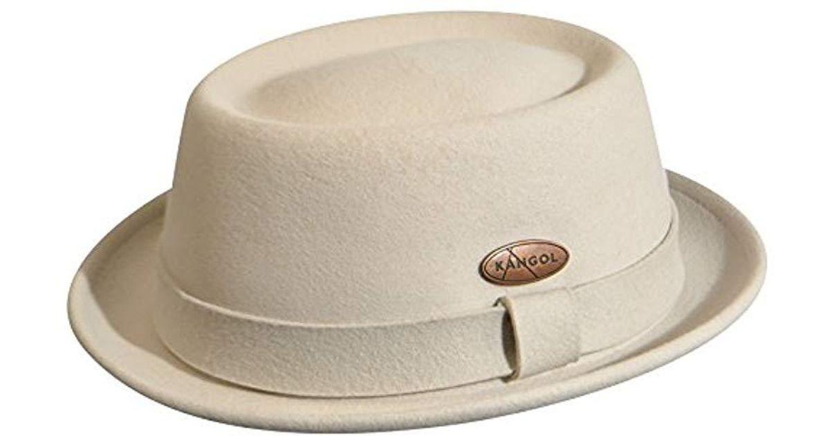 Lyst - Kangol Lite Felt Pork Pie Hat in Green for Men - Save  24.637681159420296% 9c1e6a8ee8e