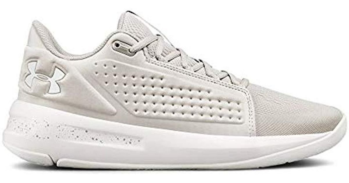 070ff59d1638 Lyst - Under Armour Torch Low Basketball Shoe in Gray for Men