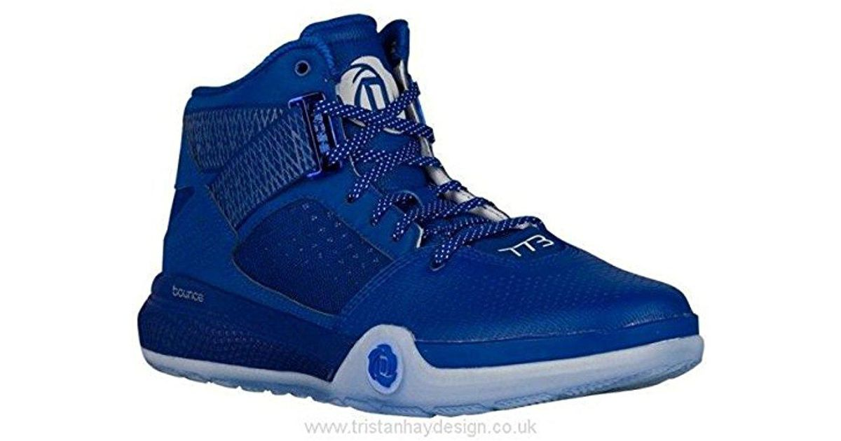 separation shoes 63bfa 59114 ... where to buy lyst adidas performance d rose 773 iv basketball shoe in  blue for men