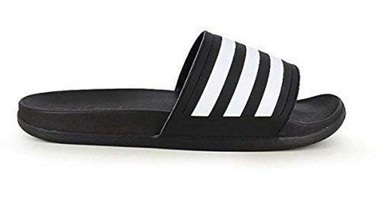 541db5f1ecea92 Lyst - Adidas Originals Adidas Adilette Slide Sandal in Black