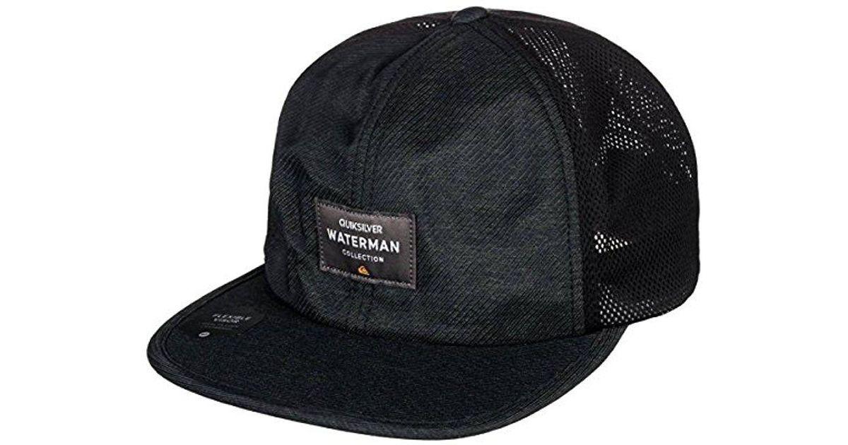 f79bceda ... low price lyst quiksilver surf runner hat in black for men save 20.0  ce231 d8239 ...